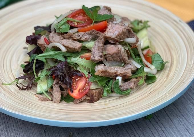 Thai Beef Salad (ยำเนื้อย่าง)