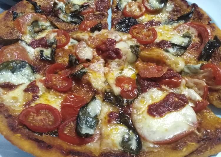 Perfect Margherita Pizza (makes 2)