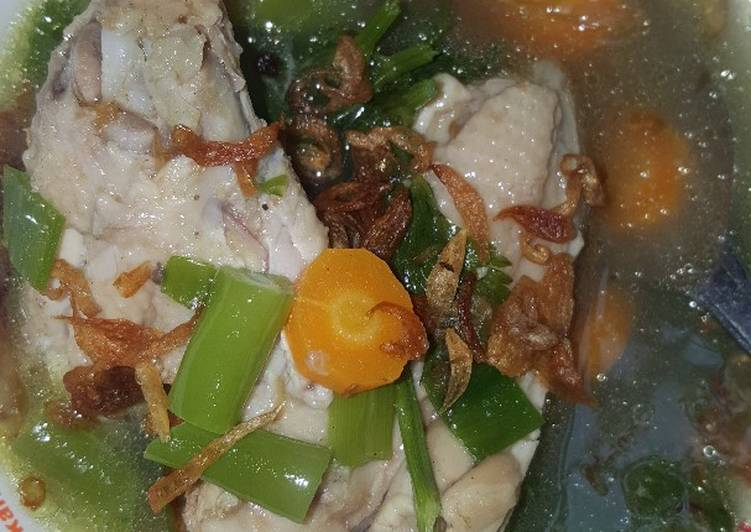 Sop Ayam Klaten ala Pak Min 🤠