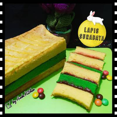 Resep Lapis Surabaya Ekonomis Oleh A Zoora Kitchen Cookpad