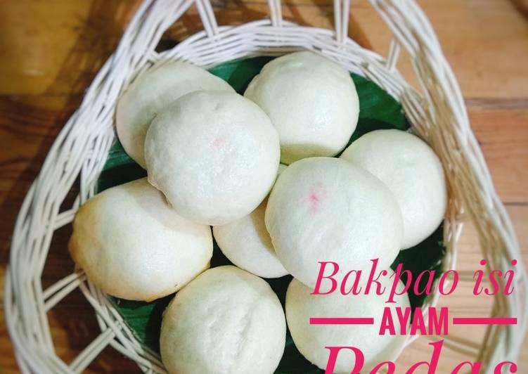 Resep Bakpao isi ayam pedas Favorit