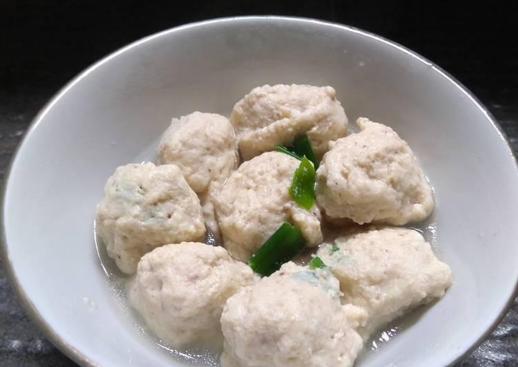 MPASI Aruna 13+: Bakso Ayam udang oatmeal