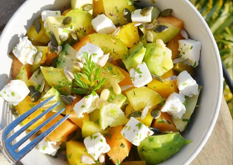 Recette: Délicieux Salade fraîcheur