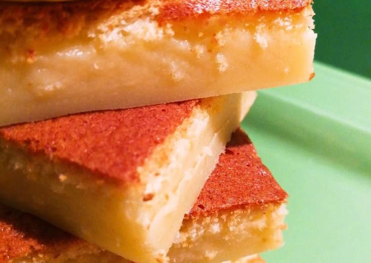 Ricetta Torta di budino al forno aromatizzata al limone