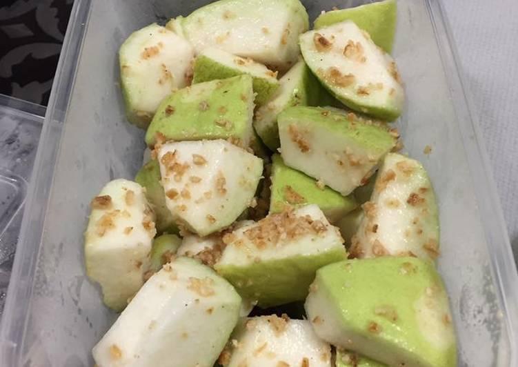 Guava with Orange peel