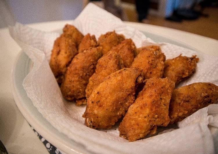 Shawn's Deep Fried Chicken Wings