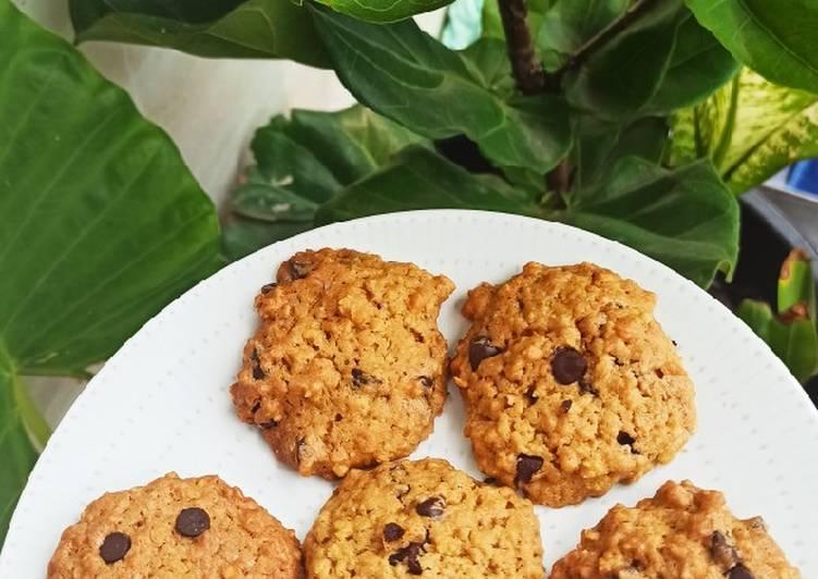 Oat Chocochips Cookies - cookandrecipe.com