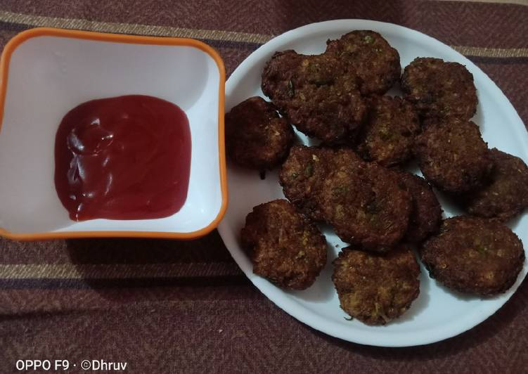 Simple Way to Make Top-Rated Hare Bhare soya kabab