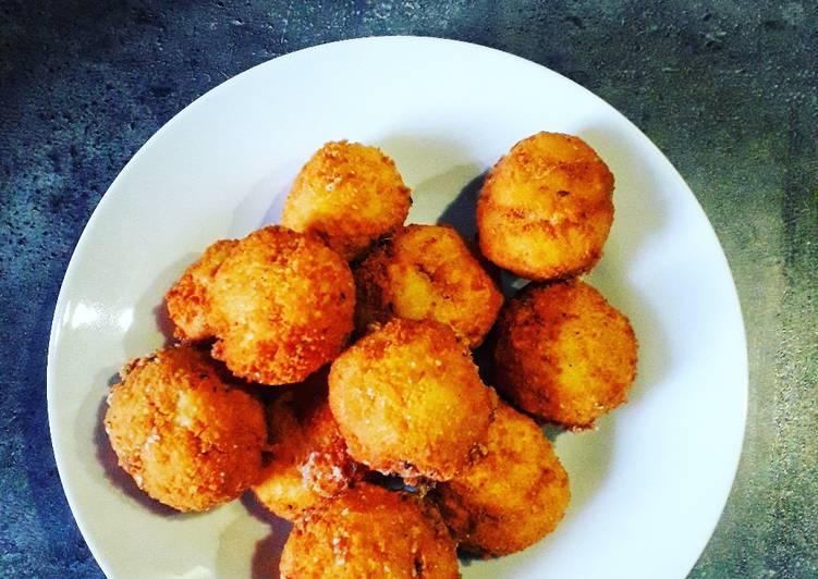 La Recette Pas à Pas Boulettes de mozzarella en friture