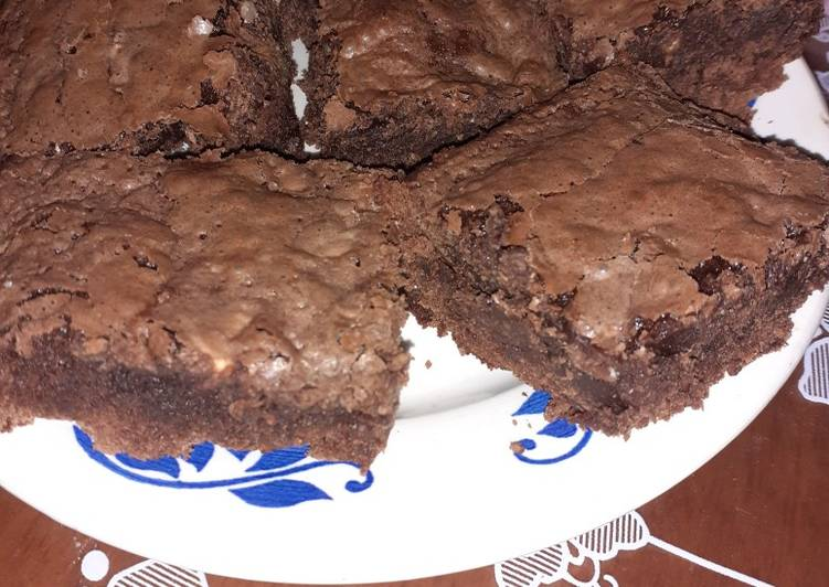 Brownies au noix