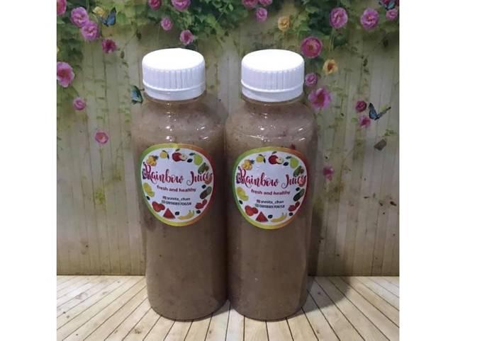 Diet Juice Cucumber Mint Guava Grape Apple Longan