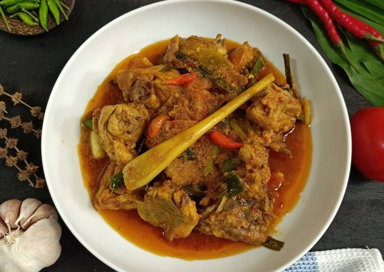 Resep Ayam Woku Khas Manado Anti Gagal