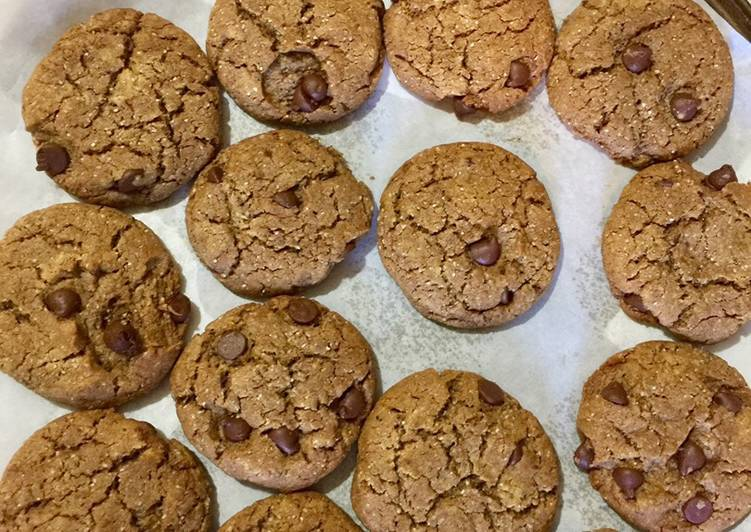 Easiest Way to Prepare Speedy Eggless whole wheat oats cookie