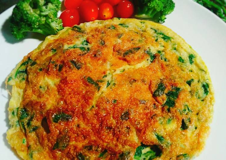 Spinach Cheese Omelet