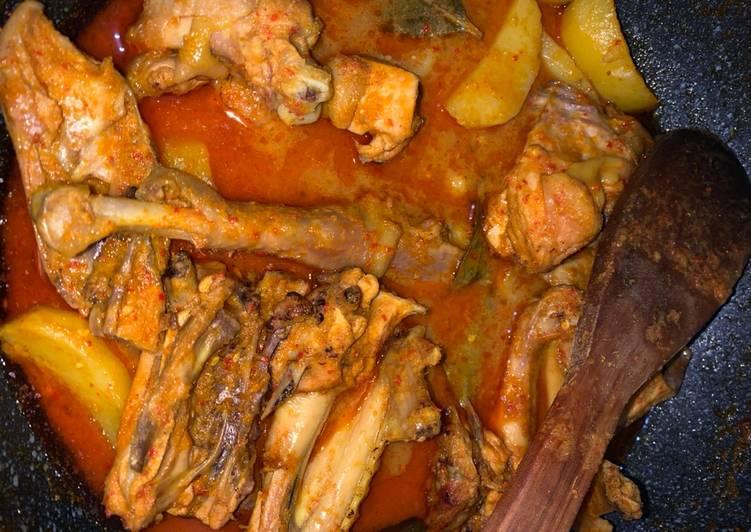 Gulai Ayam tanpa Santan