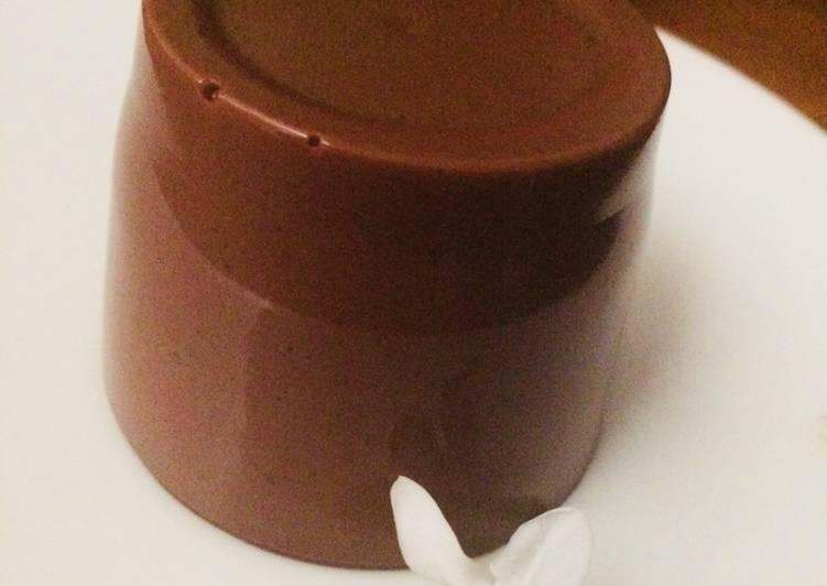 Resep Puding Brownies coklat #2 yang Lezat Sekali
