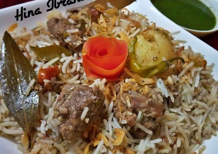 30 Minute Easiest Way to Make Quick White Biryani