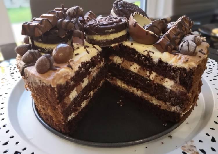 Gluténmentes mascarpone krémes torta recept foto