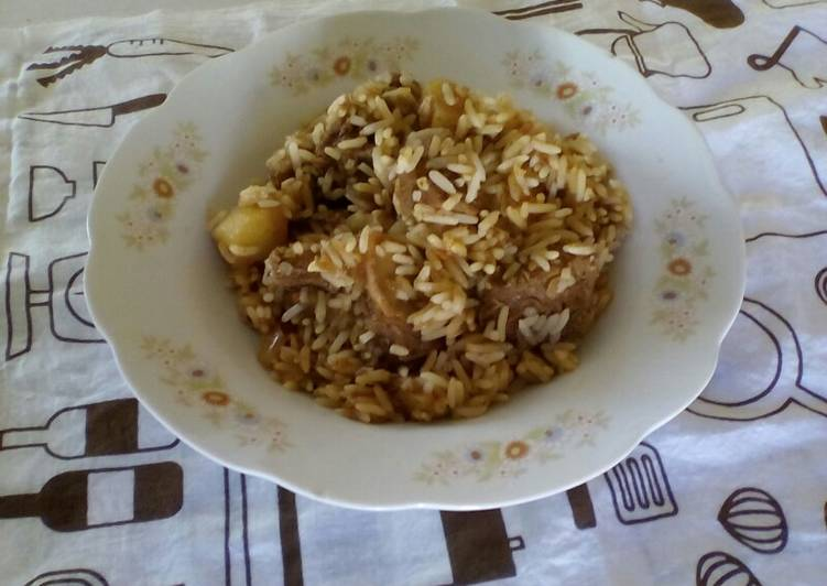 Mild Beef Biryani
