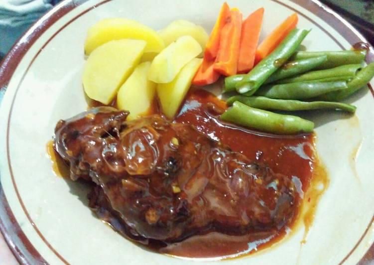 Resep Original Beef Steak Oleh Fitri Amanah Cookpad
