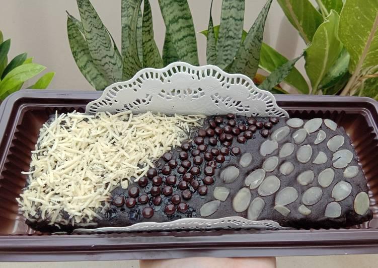 Brownies kukus 2 telur/brownies ekonomis/brownies lumer