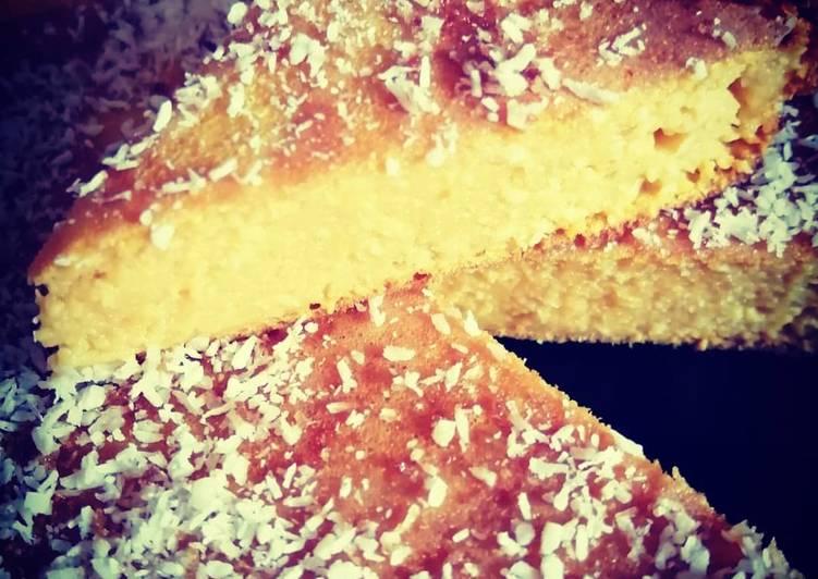 Le moyen le plus simple de Faire Délicieux Gâteau Coco🥥Patate douce