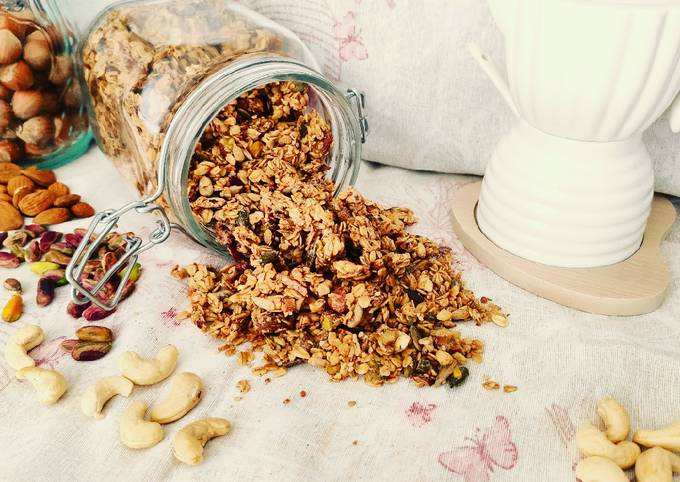 Granola sugar-free
