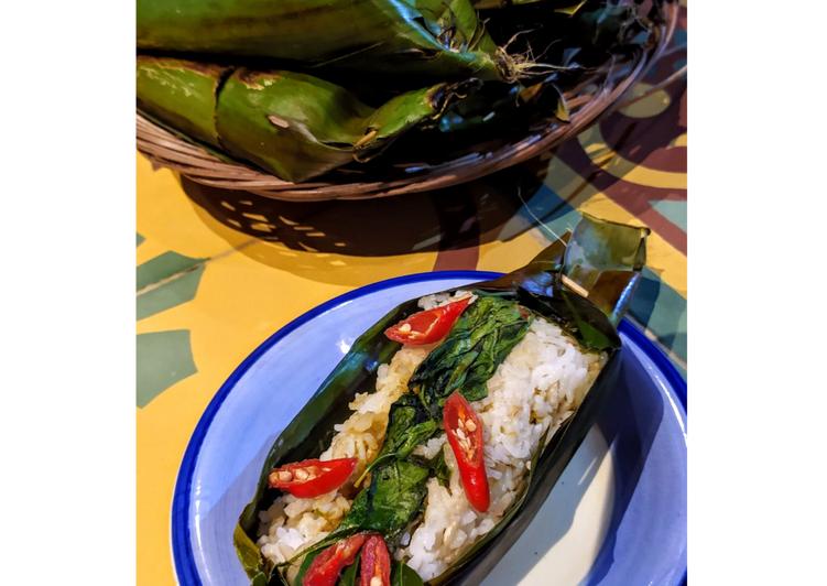 nasi-bakar-ikan-pari-lombok-ijo