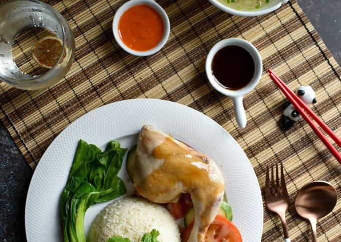 Nasi Ayam Hainan Mudah