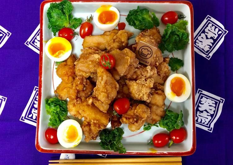 Recipe: Appetizing Japanese Fried Chicken