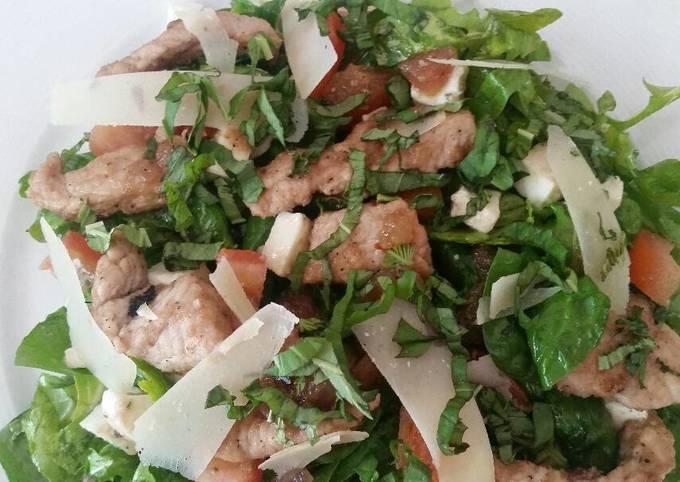 Rosemary Pork & Sage Caprese Salad