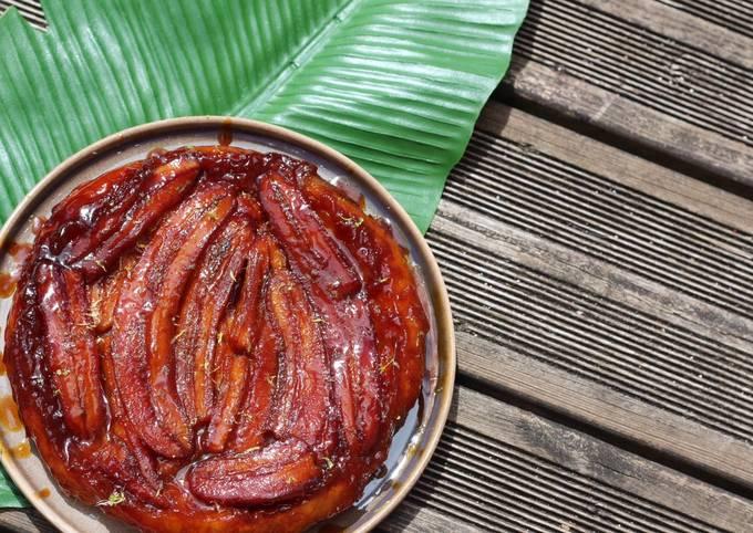 Tarte tarin à la Banane