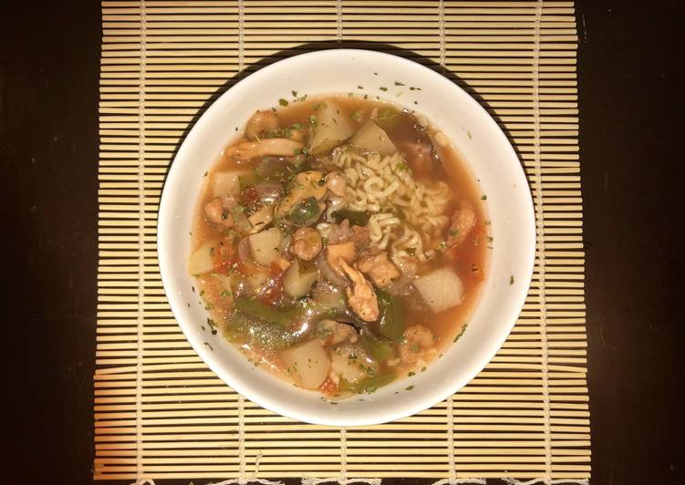 Seafood Soup, Finding Healthful Fast Food