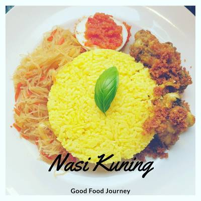 Nasi Kuning Yellow Turmeric Rice Recipe By Good Food Journey Cookpad