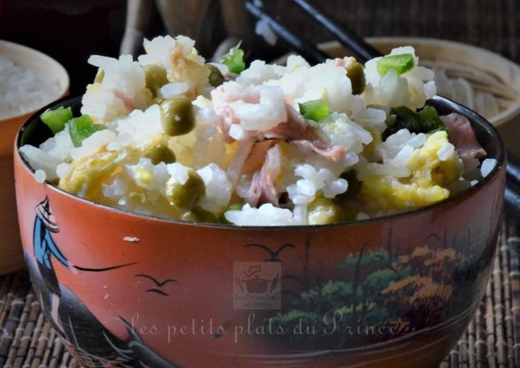 Recettes Riz cantonnais (riz frit) pour Nouvel An chinois