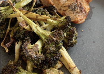 Easiest Way to Recipe Tasty Roasted tahini broccoli