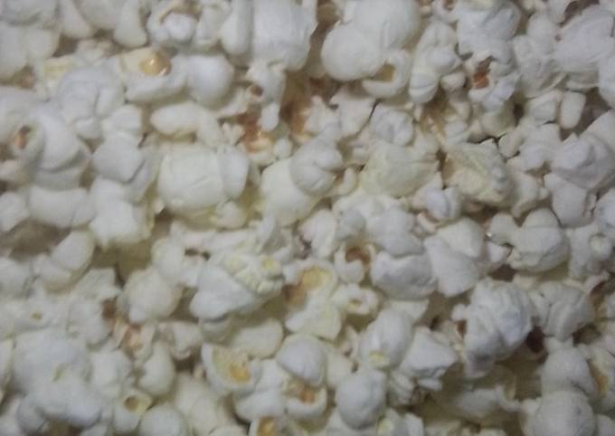 Homemade Popcorns#Endofyearchallenge