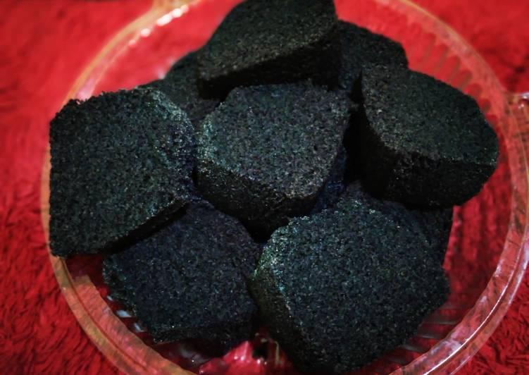 resep membuat Bolu Ketan hitam Kukus Legit - Sajian Dapur Bunda