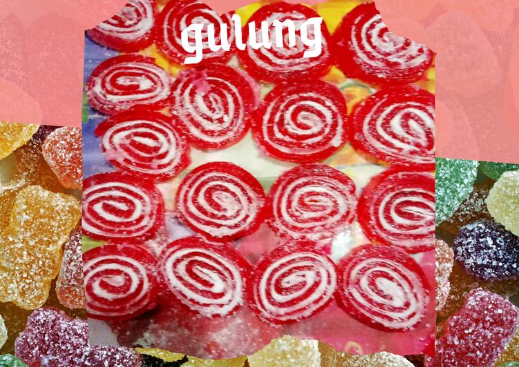 Permen jelly gulung