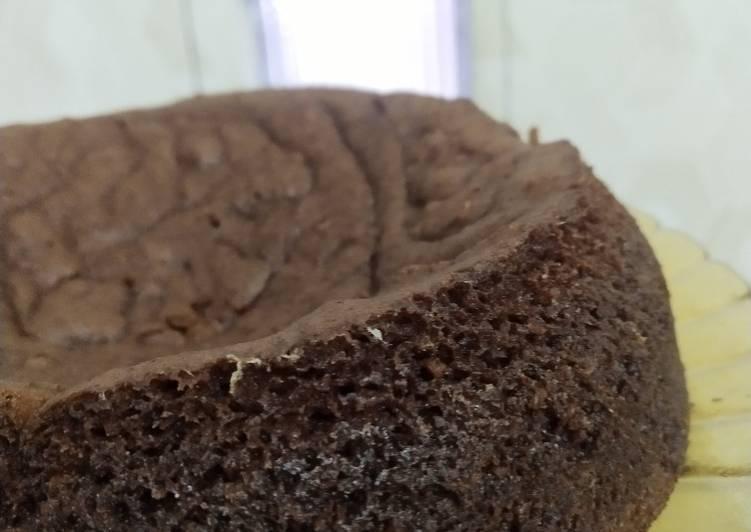 Brownies kukus chocolatos dengan fla keju