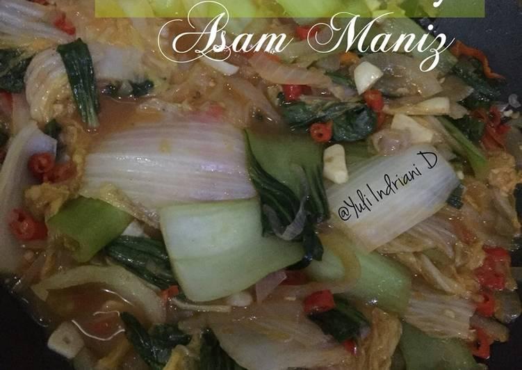 Sayur Sawi Pak Choy Asam Manis 🥗