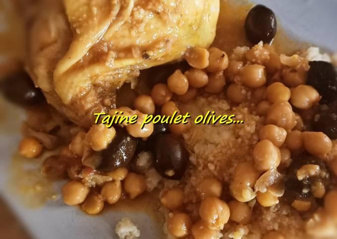 Tajine poulet olives #cookexpertmagimix
