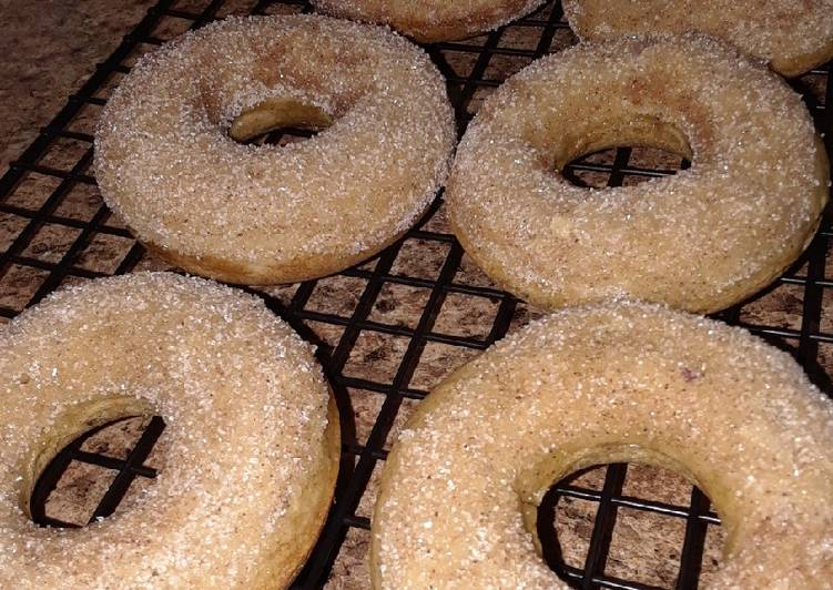 Easiest Way to Prepare Perfect Baked Cinnamon Sugar Donuts