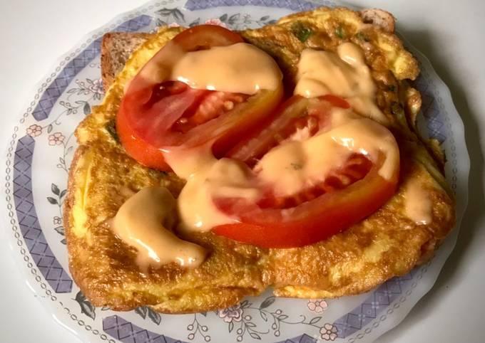 Roti Gandum John (Diet) untuk sarapan sehat, 329 kalori /sajian