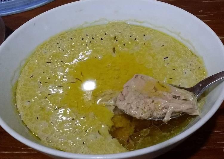 Recipe: Tasty Homemade Chicken Essence, Resep Ke ek/ Saripati Ayam