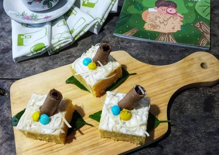 Brownies Jagung Manis 3 Telur(Part 2)