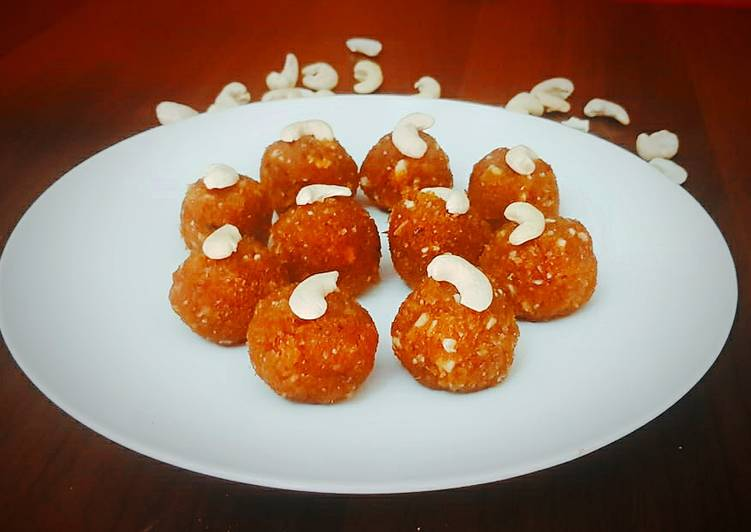 Simple Way to Prepare Favorite Coconut ladoo no sugar