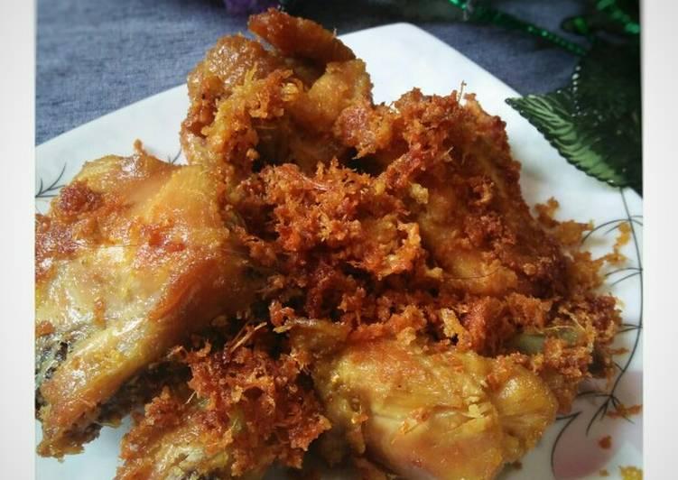 10 Resep: Ayam Goreng Telur/Ayam Goreng Padang Kekinian