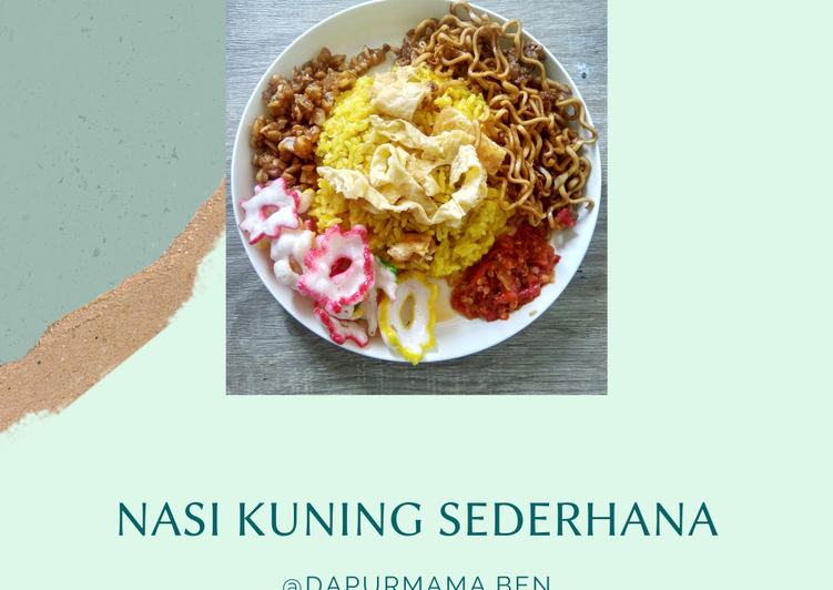 Nasi kuning sederhana magic com
