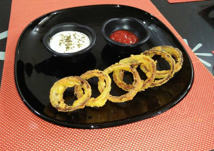 Recipe of Quick Onion rings